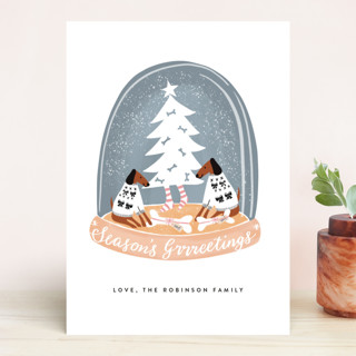 Doggy Holidays Holiday Cards