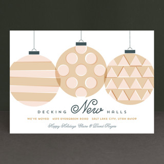 Decking New Halls Holiday Cards