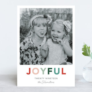 Cheerful New Year Photo Cards