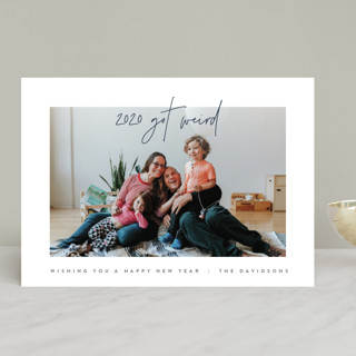 Simplicity New Year Photo Cards