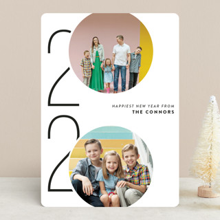 Viginti New Year Photo Cards