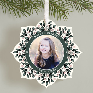 Fresh Berries Holiday Ornament Cards