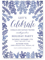Let's Celebrate Holiday Party Invitations