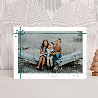 Gift Wrapped Holiday Postcards