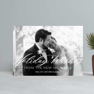 New Mr. & Mrs. Holiday Postcards