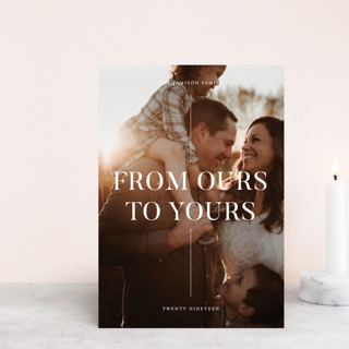 Sincerely yours Holiday Postcards