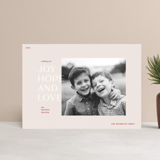 Season for Love Holiday Postcards