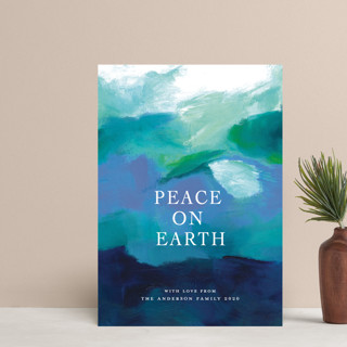 Peaceful Earth Holiday Postcards