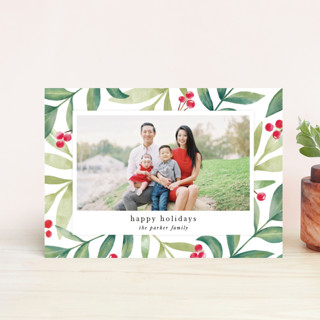 Holiday Greenery Holiday Postcards