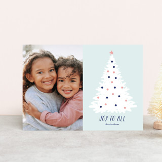 Frosted Joy Holiday Postcards