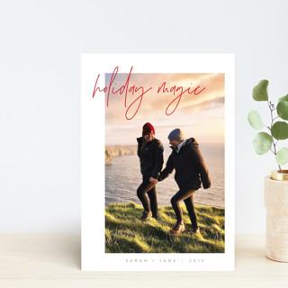 Modern Balance Holiday Postcards