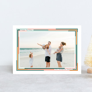 Lined Holiday Postcards