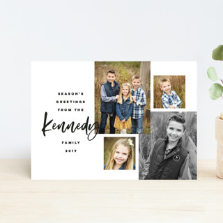 Our Family Photos Holiday Postcards