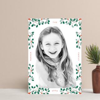 A little Mistletoe Holiday Postcards