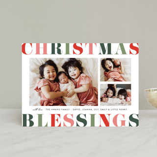 Color Pop Blessings Holiday Postcards