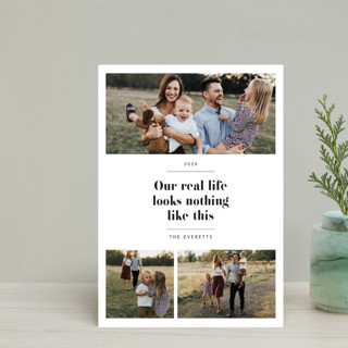 Real Life. Holiday Postcards