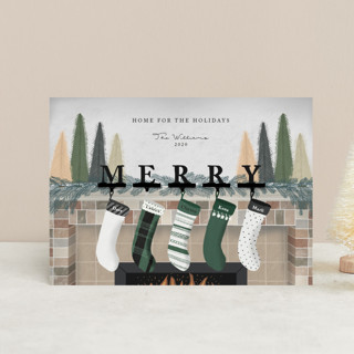 Hearth Wishes Holiday Postcards