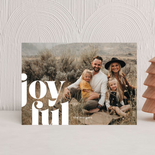 Joyfully Bold Holiday Postcards