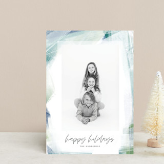 Wintry Window Holiday Postcards