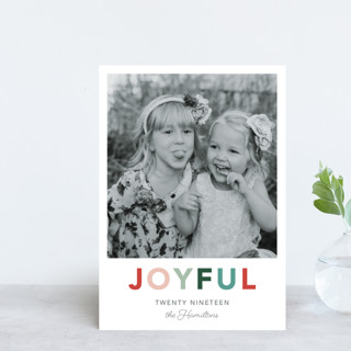 Cheerful Holiday Postcards