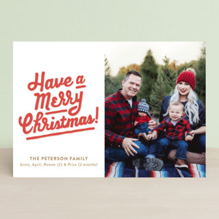 My Type of Christmas Holiday Postcards