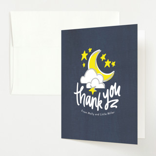 Hey, Diddle, Diddle Baby Shower Thank You Cards