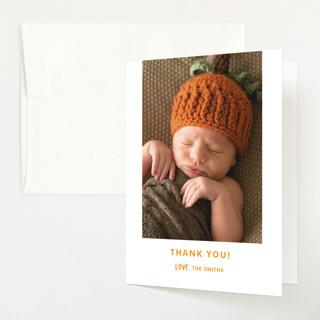 Cutest Pumpkin Baby Shower Thank You Cards