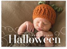 Baby's First Halloween Halloween Petite Cards