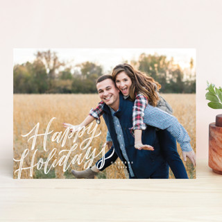 Whimsically Merry Holiday Photo Cards