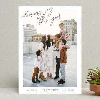 A Year to Choose Joy Holiday Photo Cards