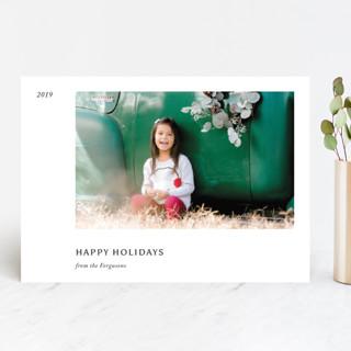 Leaflet Holiday Photo Cards