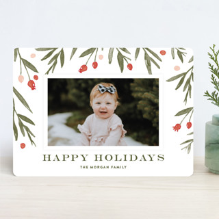 Winter Harvest Holiday Photo Cards
