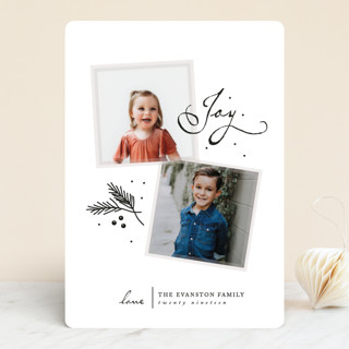 So Few Holiday Photo Cards