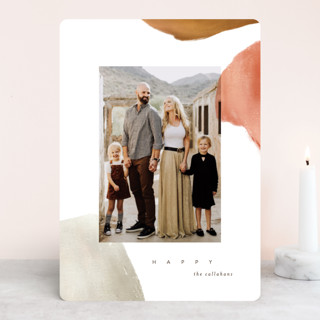 Painted Desert Holiday Photo Cards