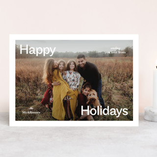 Ad Holiday Photo Cards