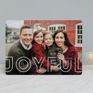 double joy Holiday Photo Cards