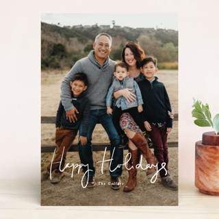 tres leches Holiday Photo Cards