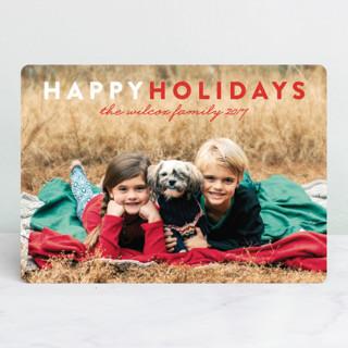 Christmas Love Holiday Photo Cards