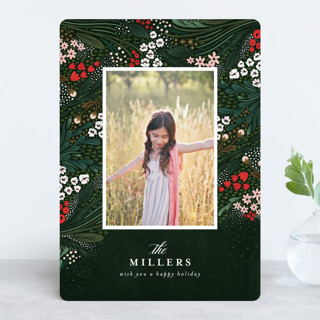 Holiday Garden Holiday Photo Cards