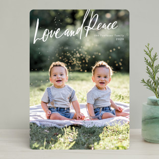 Chirography Holiday Photo Cards