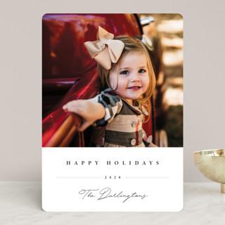 Sweet Signature Holiday Photo Cards