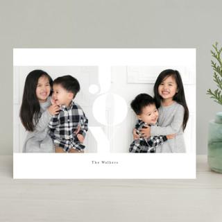 marshmallow Holiday Photo Cards