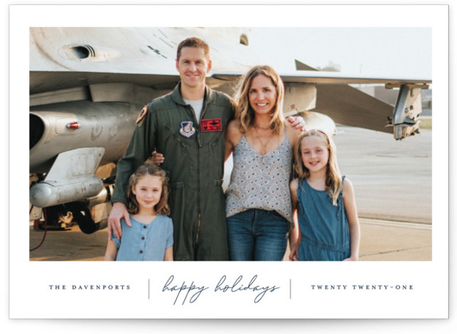 Happiness Holiday Photo Cards