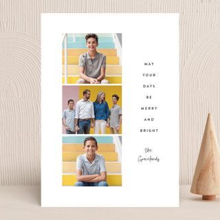 days be merry and bright Holiday Photo Cards