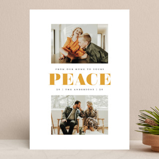 great peace Holiday Photo Cards