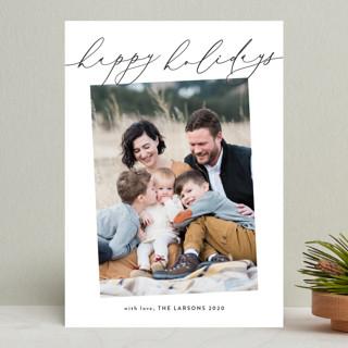Carolling Holiday Photo Cards