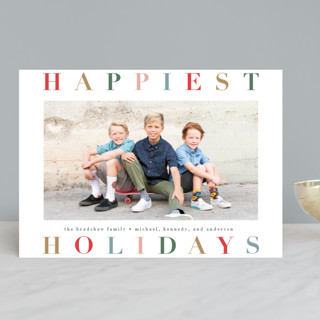 Holiday Hue Holiday Photo Cards