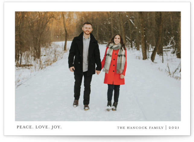 Tiny Blessings Holiday Photo Cards