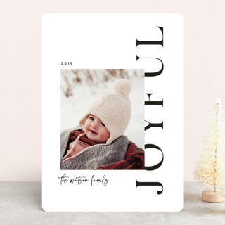 Merry Collage Holiday Photo Cards