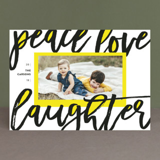 Merry & Bold Holiday Photo Cards